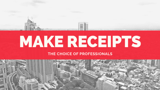 Make fake receipts with MakeReceipt