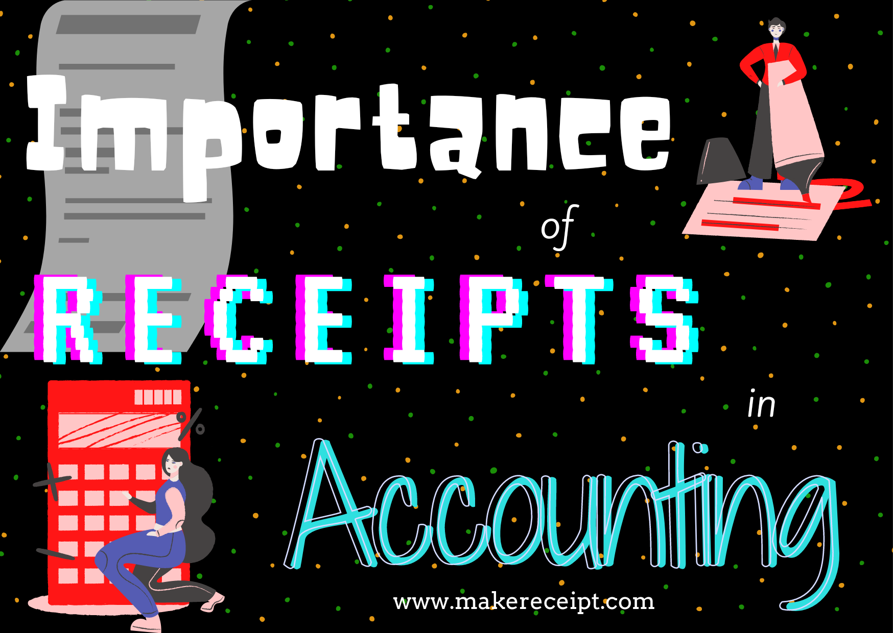 Importance of Receipts in Accounting