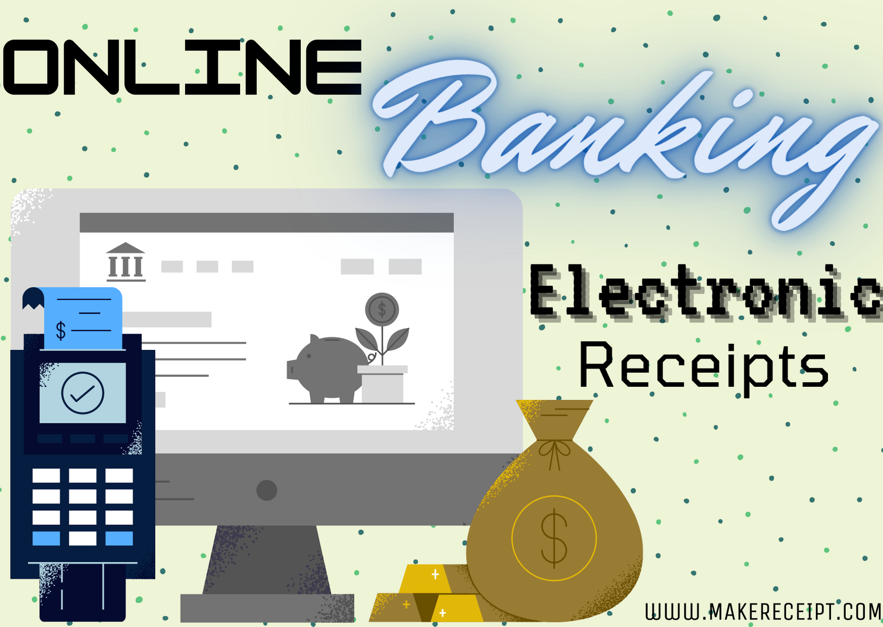 Online Banking Electronic Receipts